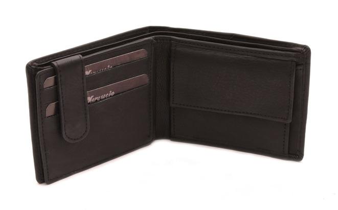 41ab14ec50 Mercucio - Veľkoobchod koženej galantérie - Pánske peňaženky - Peňaženka  MERCUCIO čierna 2311040